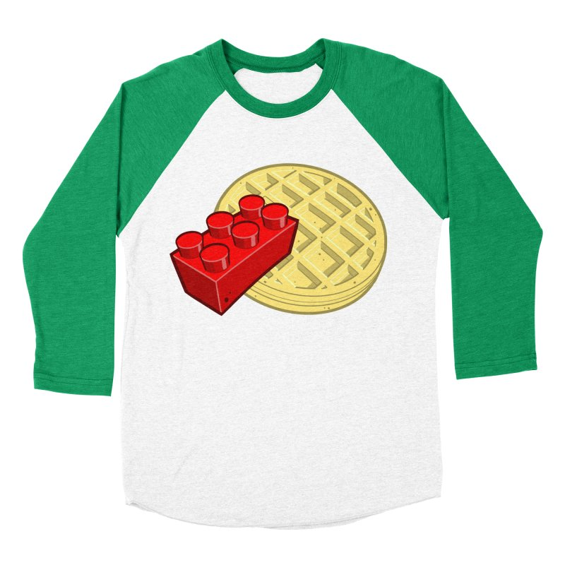 Lego My Eggo Women's Baseball Triblend T-Shirt by ChadTownsend's Artist Shop