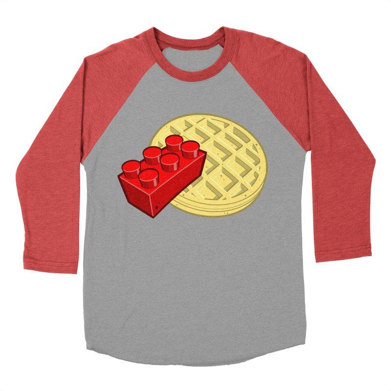 Lego My Eggo Women's Baseball Triblend T-Shirt by ChadTownsend's Artist Shop
