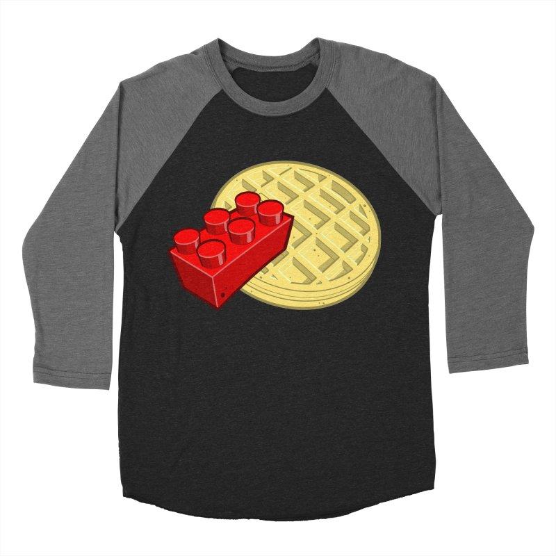 Lego My Eggo Men's Baseball Triblend Longsleeve T-Shirt by ChadTownsend's Artist Shop