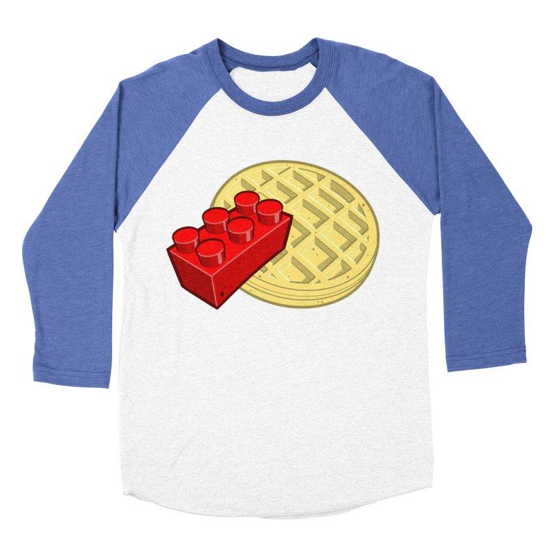 Lego My Eggo Men's Baseball Triblend T-Shirt by ChadTownsend's Artist Shop