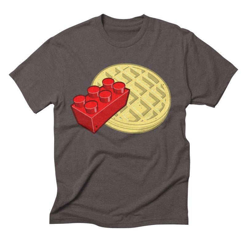 Lego My Eggo Men's Triblend T-shirt by ChadTownsend's Artist Shop