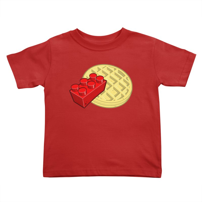 Lego My Eggo Kids Toddler T-Shirt by ChadTownsend's Artist Shop
