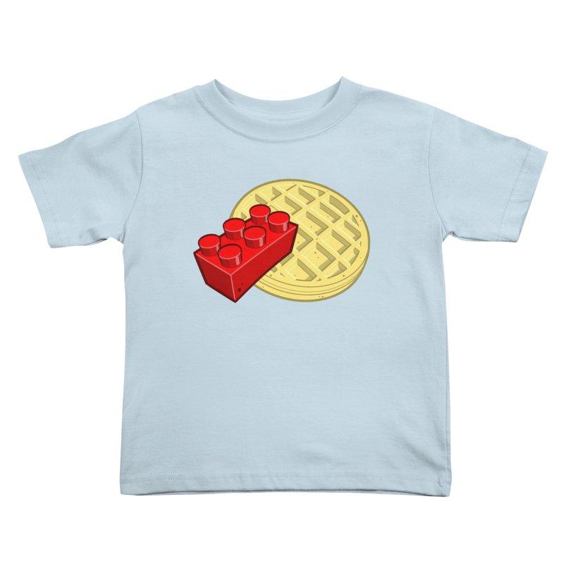 Lego My Eggo Kids Toddler T-Shirt by ChadTownsend's Artist Shop