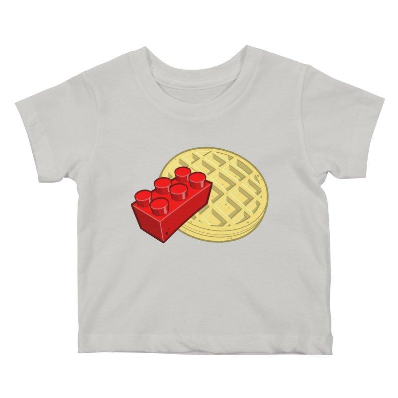 Lego My Eggo Kids Baby T-Shirt by ChadTownsend's Artist Shop