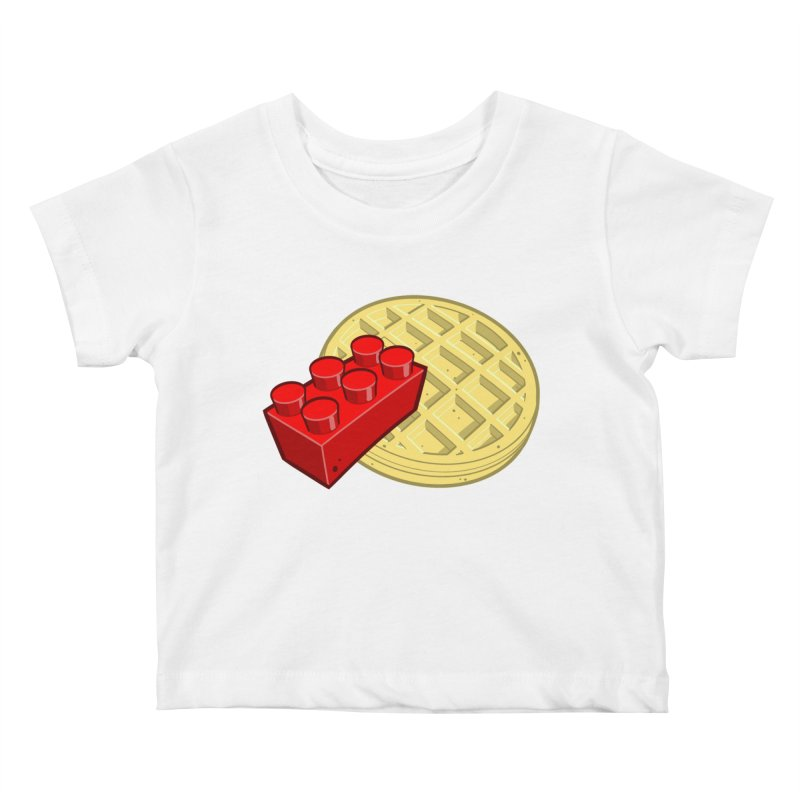 Lego My Eggo Kids Baby T-Shirt by ChadTownsend's Artist Shop