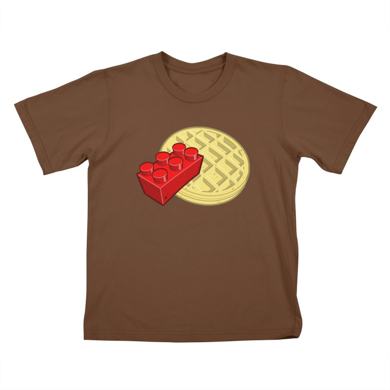 Lego My Eggo Kids T-shirt by ChadTownsend's Artist Shop