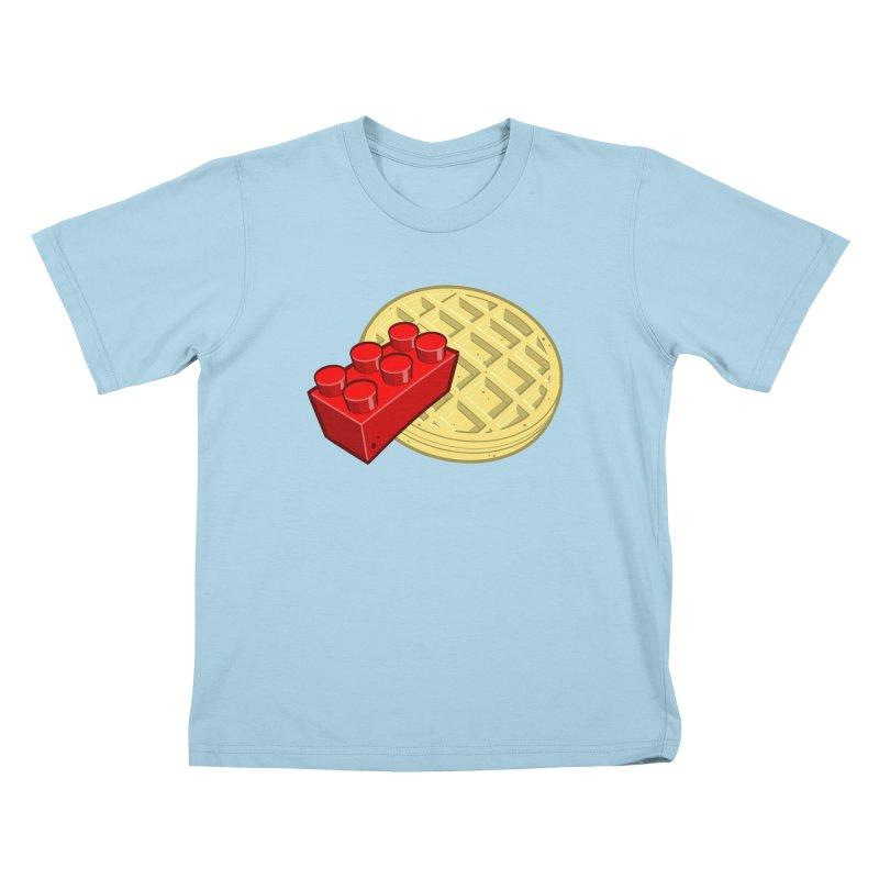 Lego My Eggo Kids T-Shirt by ChadTownsend's Artist Shop