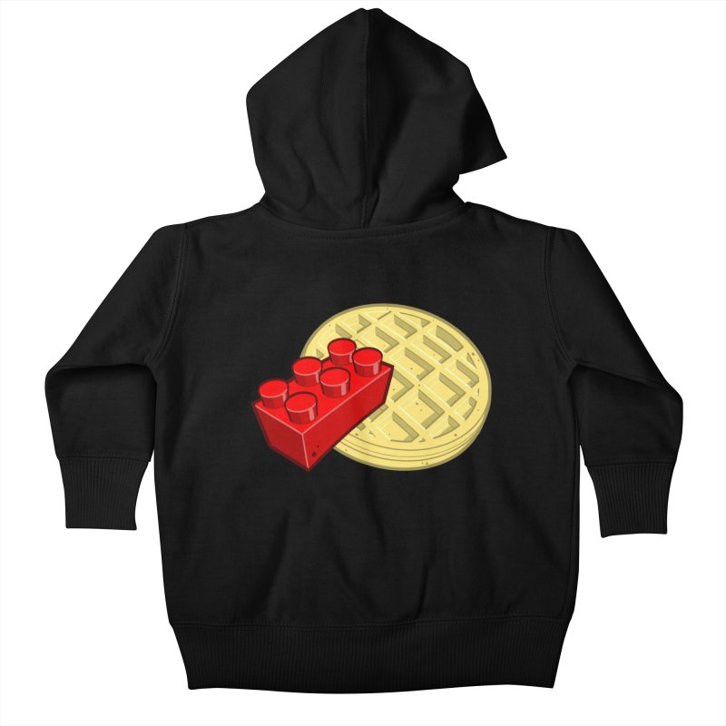 Lego My Eggo Kids Baby Zip-Up Hoody by ChadTownsend's Artist Shop