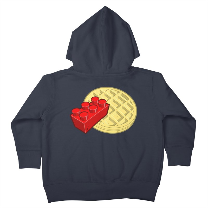 Lego My Eggo Kids Toddler Zip-Up Hoody by ChadTownsend's Artist Shop