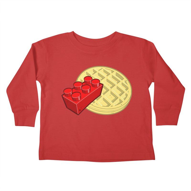 Lego My Eggo Kids Toddler Longsleeve T-Shirt by ChadTownsend's Artist Shop