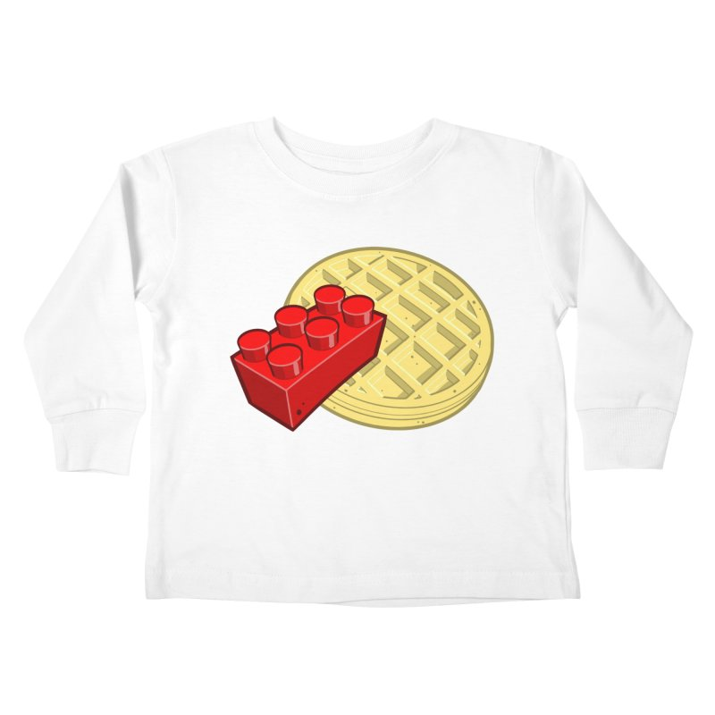 Lego My Eggo Kids Toddler Longsleeve T-Shirt by ChadTownsend's Artist Shop