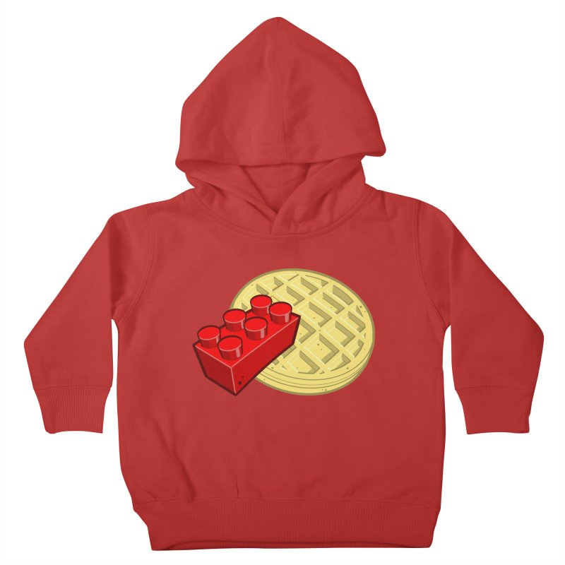 Lego My Eggo Kids Toddler Pullover Hoody by ChadTownsend's Artist Shop