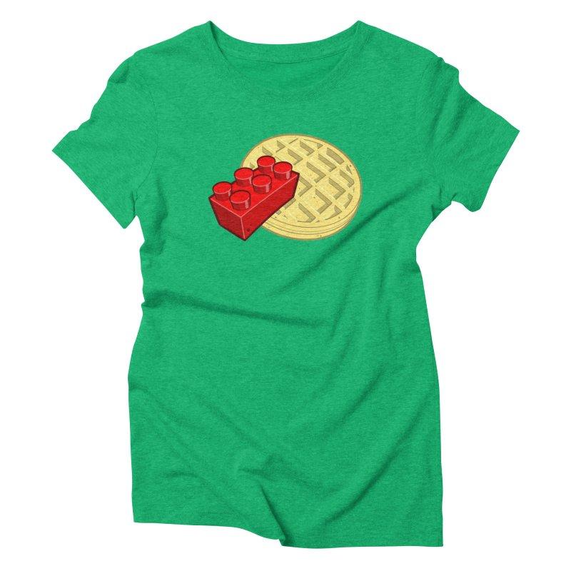 Lego My Eggo Women's Triblend T-shirt by ChadTownsend's Artist Shop