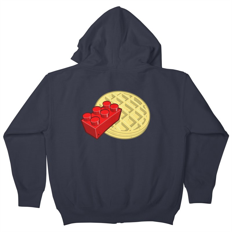 Lego My Eggo Kids Zip-Up Hoody by ChadTownsend's Artist Shop