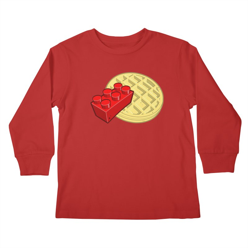 Lego My Eggo Kids Longsleeve T-Shirt by ChadTownsend's Artist Shop