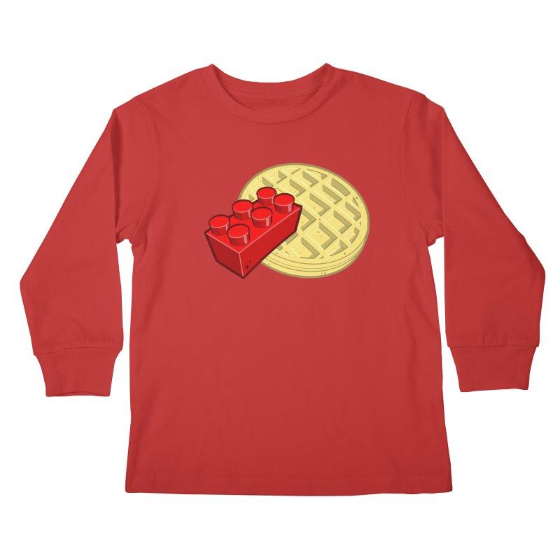 Lego My Eggo Kids Longsleeve T-Shirt by ChadTownsend's Artist Shop