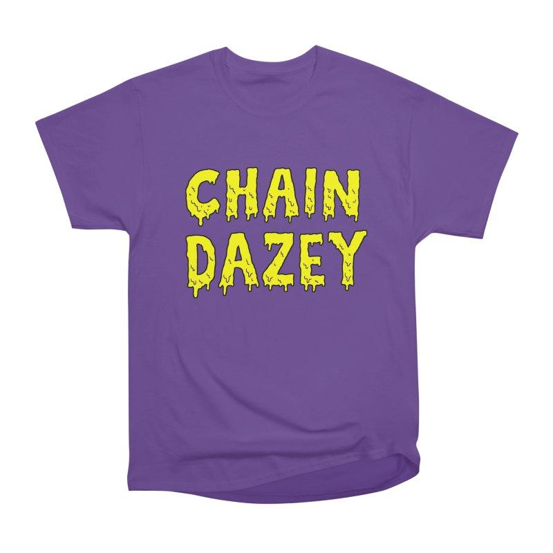 Chain Dazey Melted Logo Men's Classic T-Shirt by ChainDazey's Artist Shop