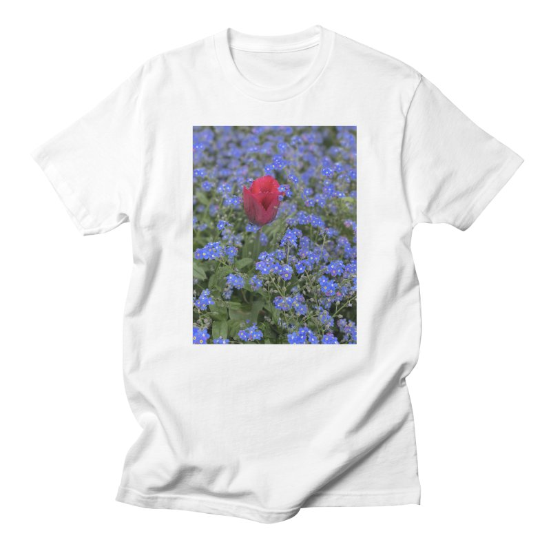 Tulip in Spring Men's T-Shirt by Chalkmarks's Artist Shop