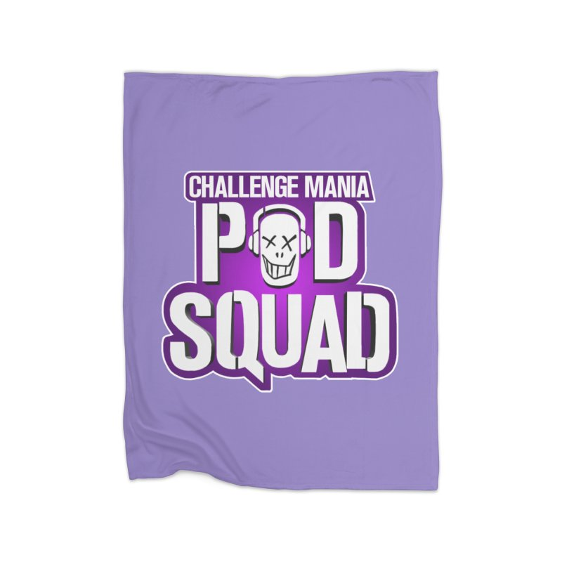 Pod Squad Home Blanket by Challenge Mania Shop