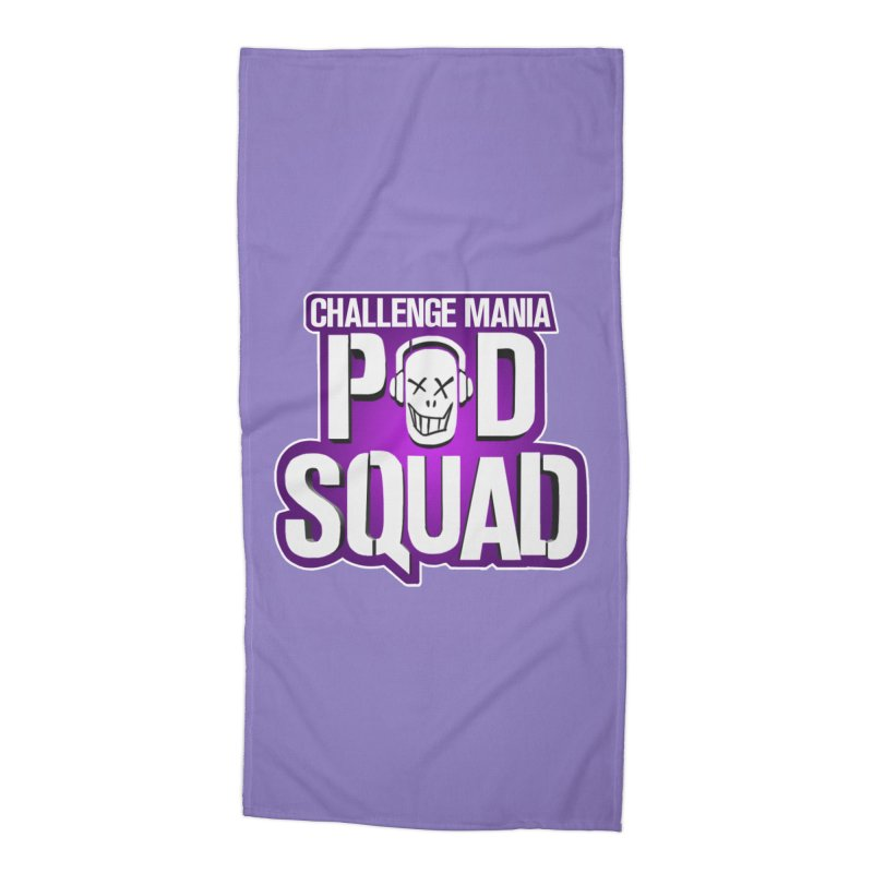 Pod Squad Accessories Beach Towel by Challenge Mania Shop