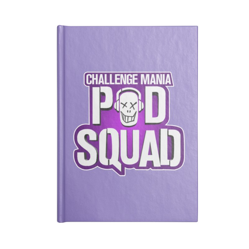 Pod Squad Accessories Lined Journal Notebook by Challenge Mania Shop