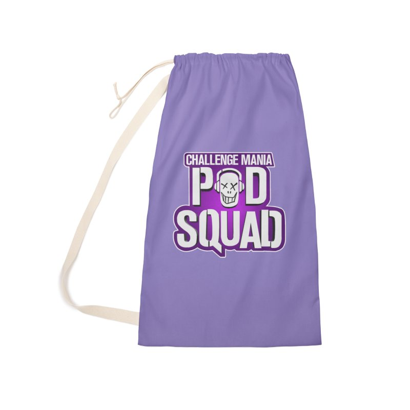 Pod Squad Accessories Laundry Bag Bag by Challenge Mania Shop