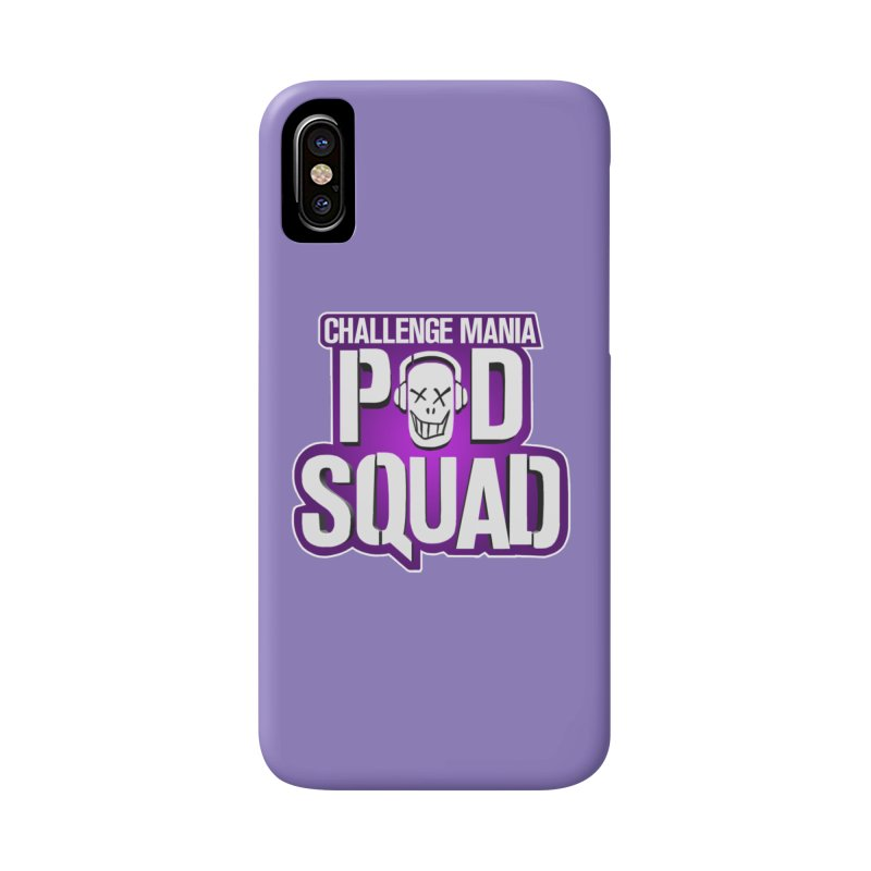 Pod Squad Accessories Phone Case by Challenge Mania Shop