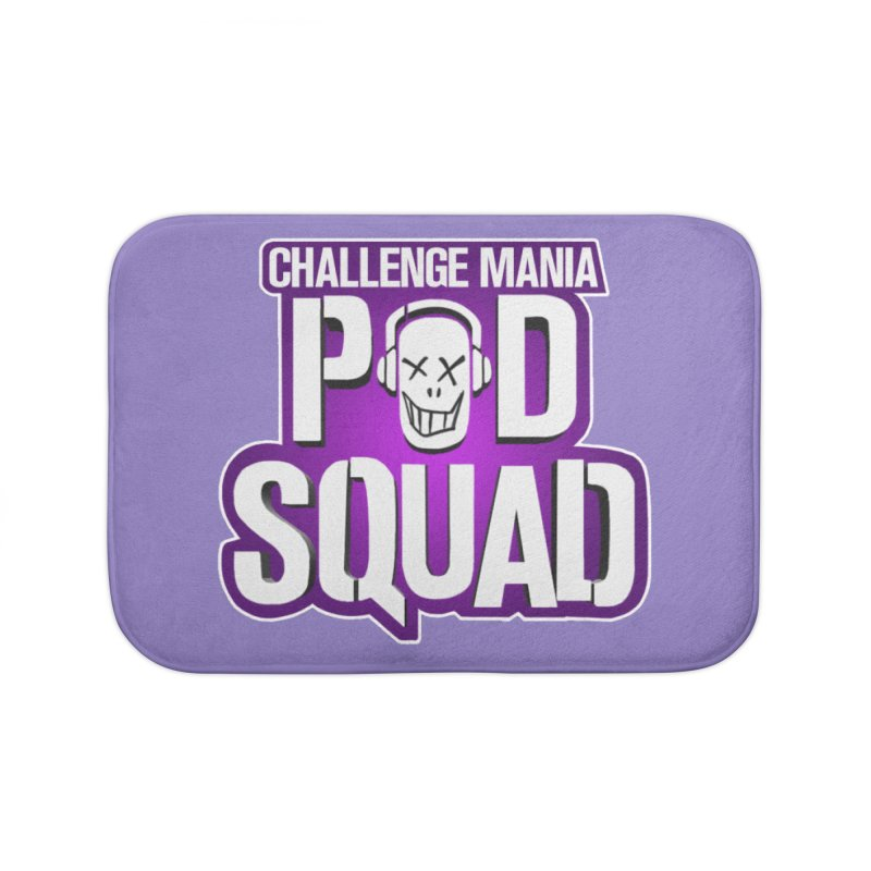 Pod Squad Home Bath Mat by Challenge Mania Shop