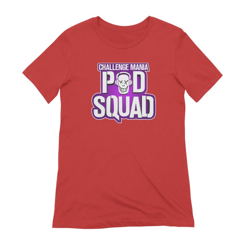 Pod Squad Women's Extra Soft T-Shirt by Challenge Mania Shop