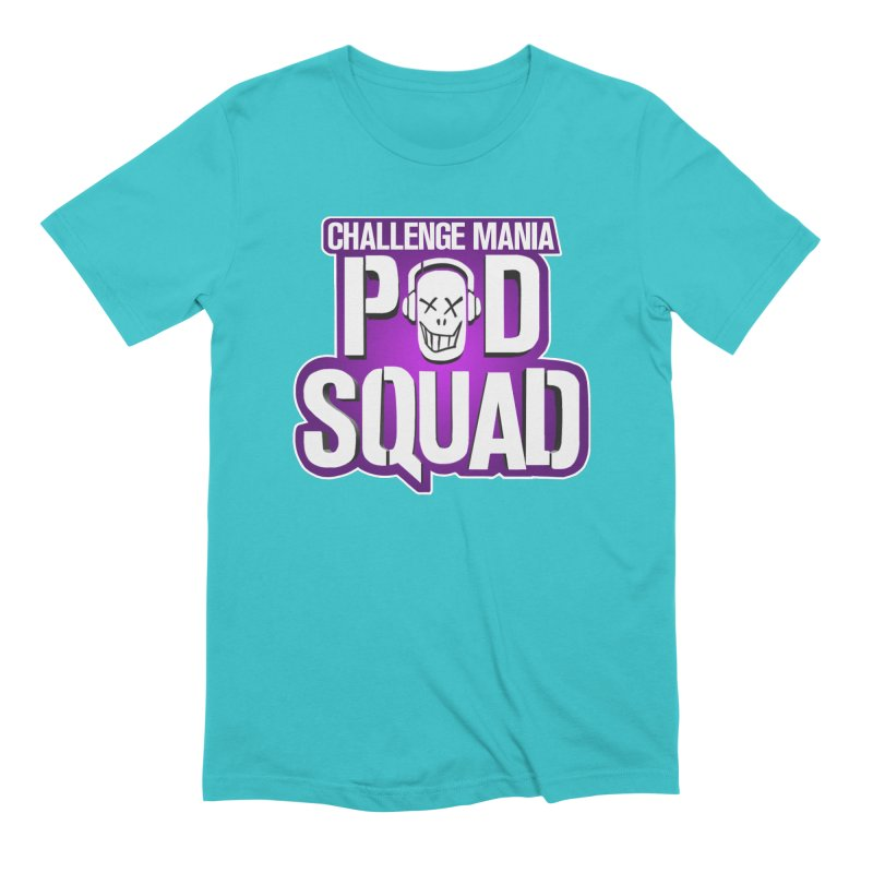 Pod Squad Men's Extra Soft T-Shirt by Challenge Mania Shop