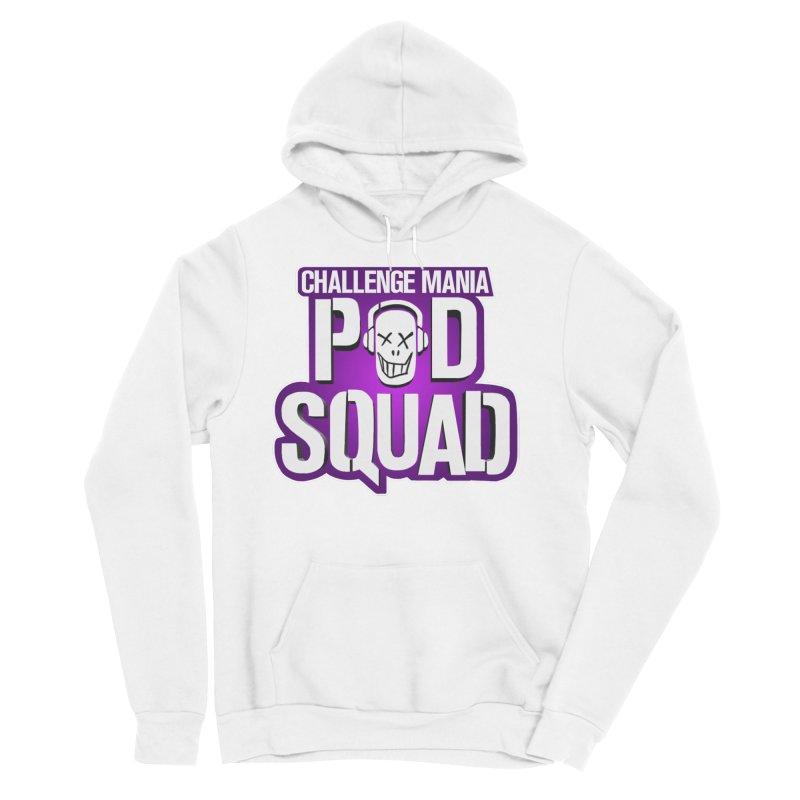 Pod Squad Men's Sponge Fleece Pullover Hoody by Challenge Mania Shop