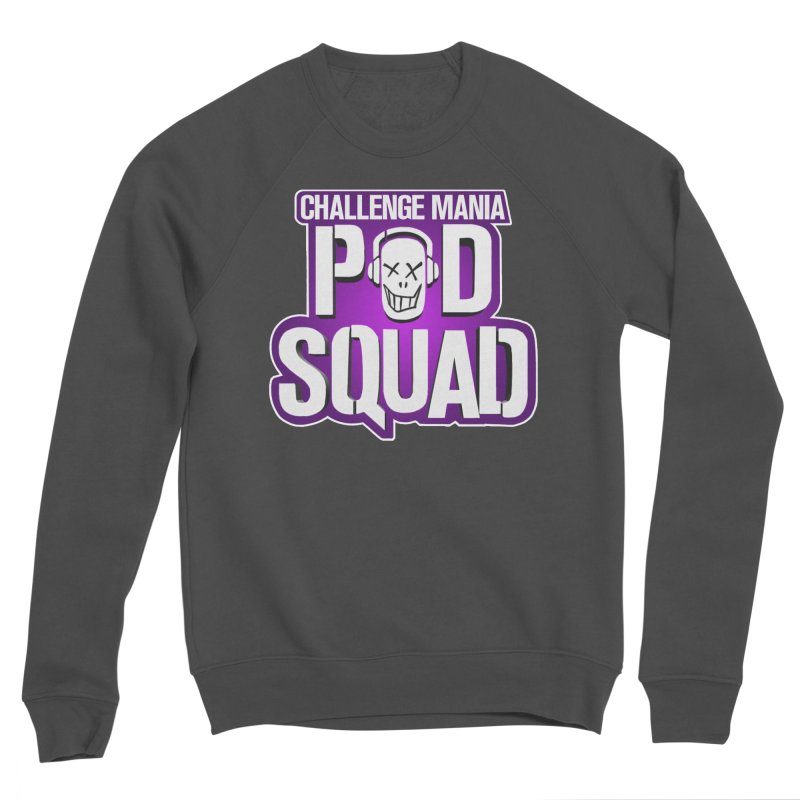 Pod Squad Men's Sponge Fleece Sweatshirt by Challenge Mania Shop