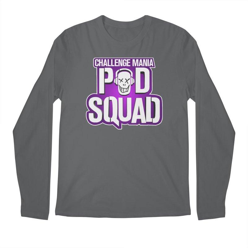 Pod Squad Men's Longsleeve T-Shirt by Challenge Mania Shop