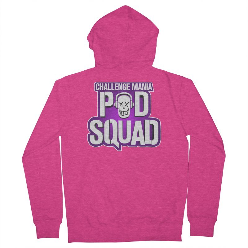 Pod Squad Women's French Terry Zip-Up Hoody by Challenge Mania Shop