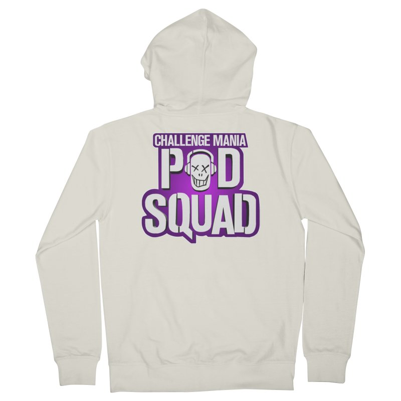 Pod Squad Men's French Terry Zip-Up Hoody by Challenge Mania Shop