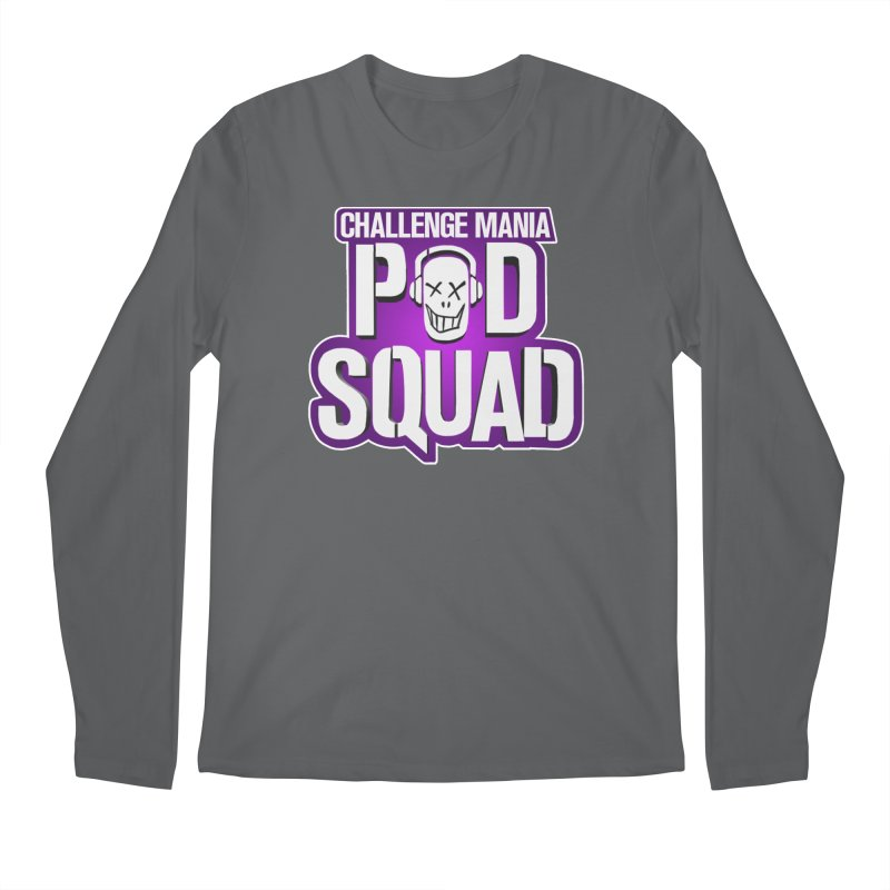 Pod Squad Men's Longsleeve T-Shirt by Challenge Mania Shop