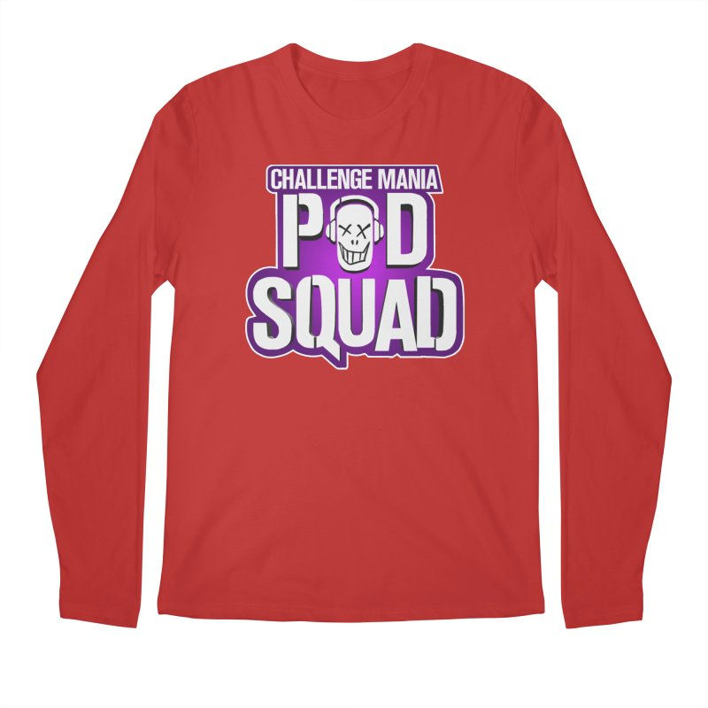 Pod Squad Men's Regular Longsleeve T-Shirt by Challenge Mania Shop