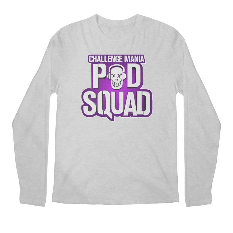 Pod Squad Men's Regular Longsleeve T-Shirt by Challenge Mania Shop