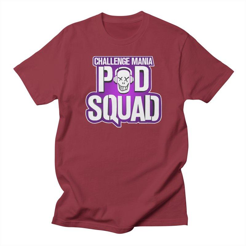 Pod Squad Men's Regular T-Shirt by Challenge Mania Shop