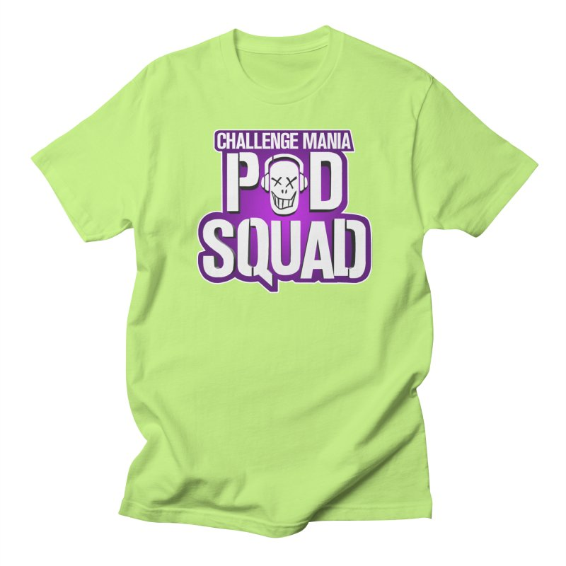 Pod Squad Men's Regular T-Shirt by Challenge Mania Shop