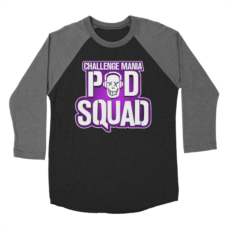 Pod Squad Women's Baseball Triblend Longsleeve T-Shirt by Challenge Mania Shop