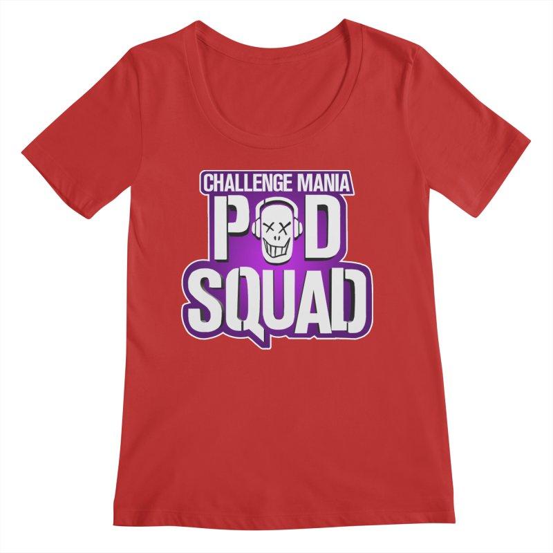 Pod Squad Women's Regular Scoop Neck by Challenge Mania Shop