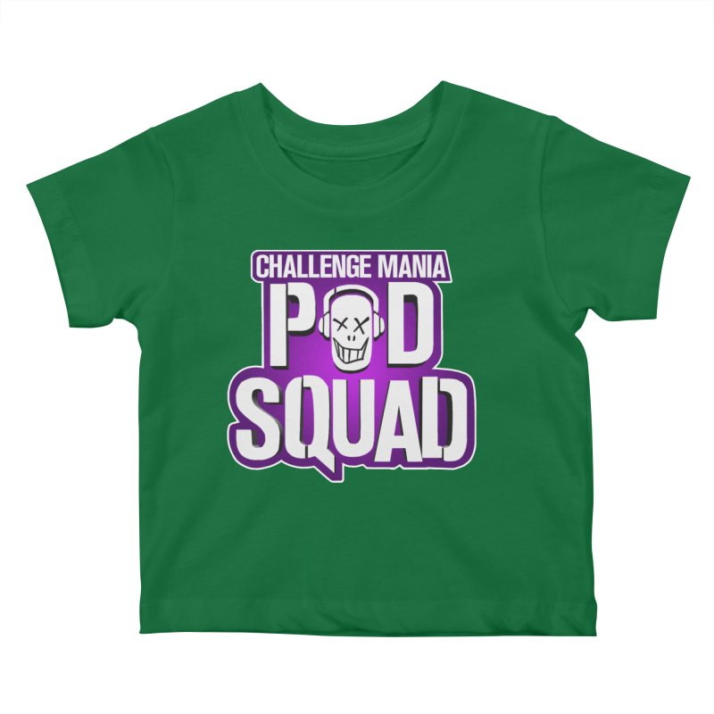 Pod Squad Kids Baby T-Shirt by Challenge Mania Shop