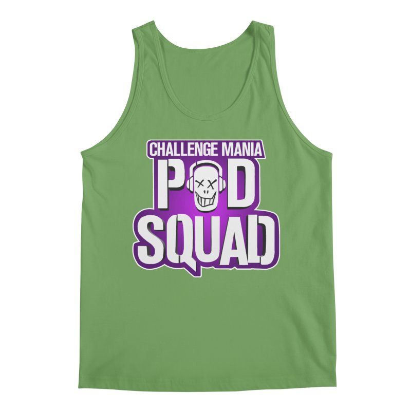 Pod Squad Men's Tank by Challenge Mania Shop