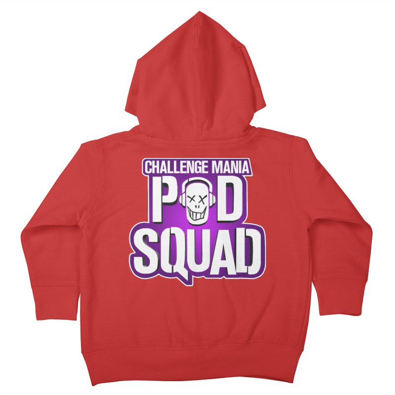 Pod Squad Kids Toddler Zip-Up Hoody by Challenge Mania Shop