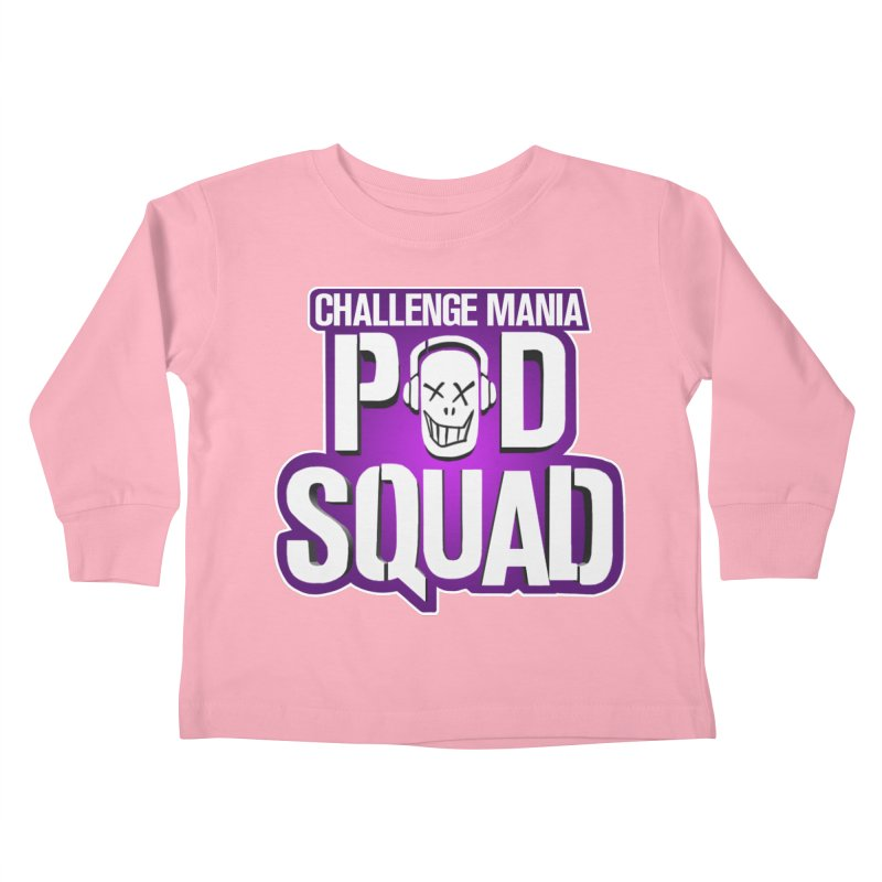 Pod Squad Kids Toddler Longsleeve T-Shirt by Challenge Mania Shop