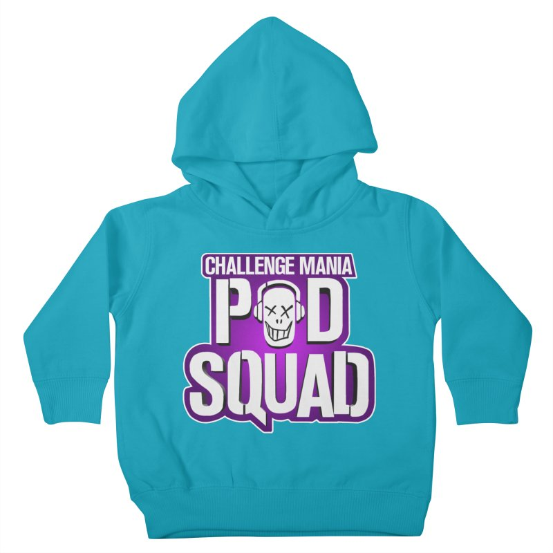 Pod Squad Kids Toddler Pullover Hoody by Challenge Mania Shop