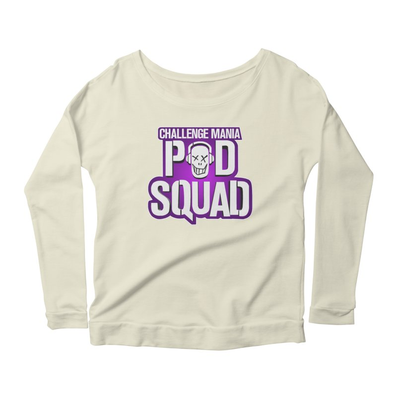 Pod Squad Women's Scoop Neck Longsleeve T-Shirt by Challenge Mania Shop