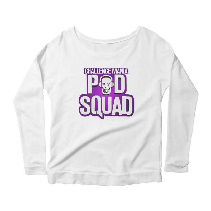 Pod Squad Women's Scoop Neck Longsleeve T-Shirt by Challenge Mania Shop