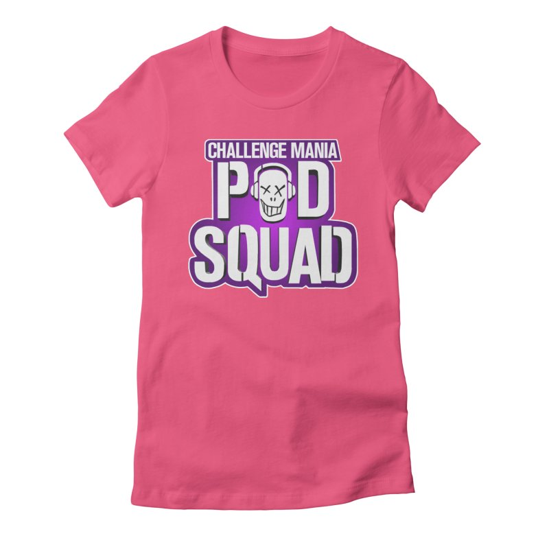 Pod Squad Women's Fitted T-Shirt by Challenge Mania Shop